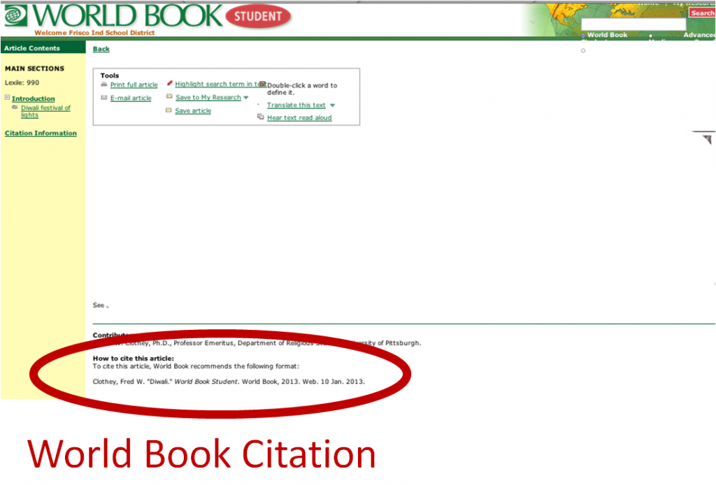 Need help with website citation?