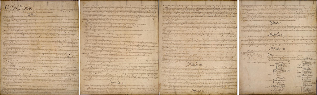 Constitution All 4 Pages