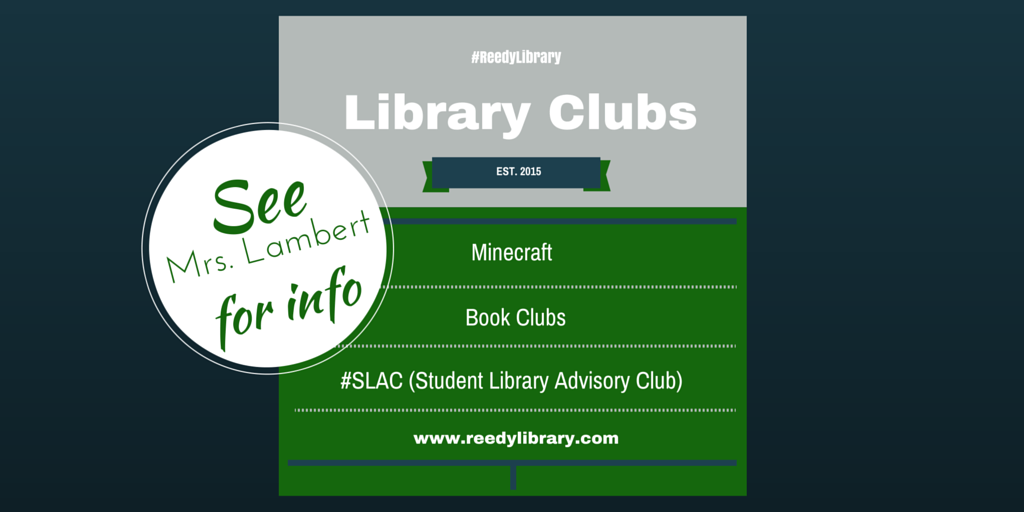 Blog Post Interested in Library Clubs-