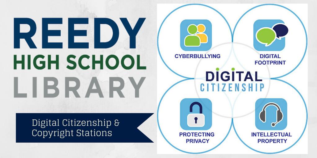 Digital Citizenship & Copyright Stations Blog Post Image