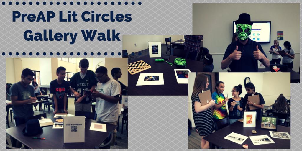 PreAP Lit Circles Gallery Walk