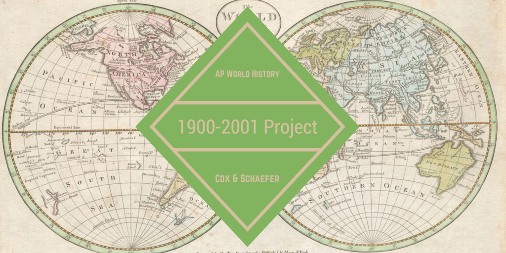 Reedy library ap world history 1900 2001 project ap wolrd 1900 to 2001 project blog post banner gumiabroncs Images
