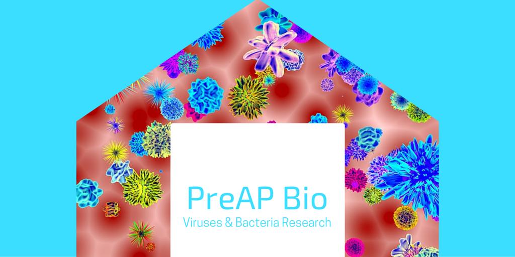 PreAP Bio Viruses & Bacteria Research Blog Post Banner