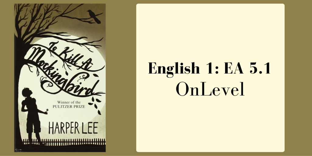 English 1 EA 5.1 OnLevel Blog Post Banner