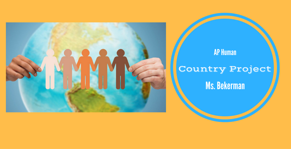 AP Human Geography Country Project