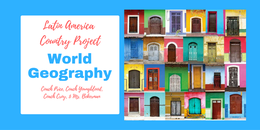 Reedy Library World Geography Latin America Country Project - World geography countries